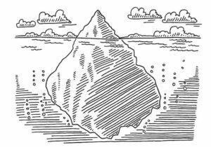 The Iceberg of Trauma Includes Oppression